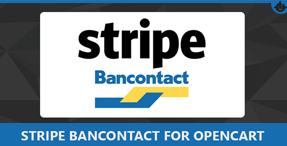 Stripe Bancontact Payment Gateway for Opencart